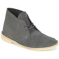 Chaussures Homme Boots Clarks DESERT BOOT Gris