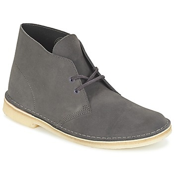 Bottines / Boots Clarks DESERT BOOT Gris 350x350