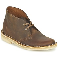 Chaussures Femme Bottines Clarks DESERT BOOT Marron