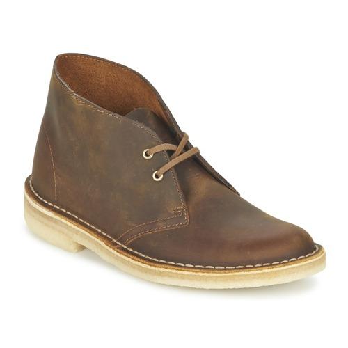 Bottines / Boots Clarks DESERT BOOT Marron 350x350