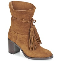 Chaussures Femme Bottines Jeffrey Campbell LAFORGE Camel