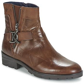 Chaussures Femme Boots Dorking NALA Marron