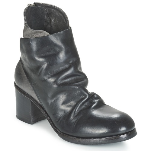 Chaussures Femme Bottines Moma BOLIO Noir