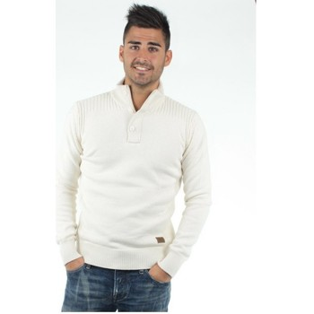 Vêtements Homme Pulls Schott Pull  ref_jac35497-off-white off white
