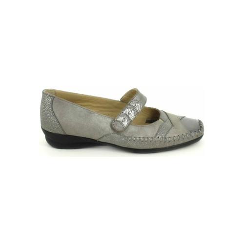 Chaussures Femme Ballerines / babies Boissy Ballerine Lunel Gris Beige Gris