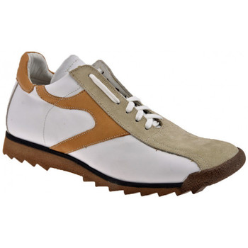 Chaussures Homme Baskets montantes Bocci 1926 Football Sneakers blanc