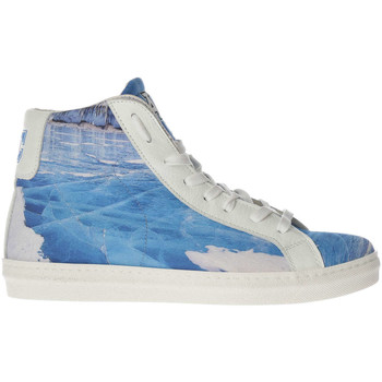 Baskets montantes American College Baskets  Ice Field Imprime Femme
