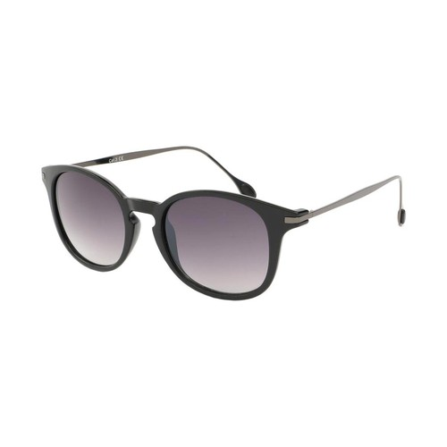 Montres & Bijoux Homme Lunettes de soleil Eye Wear Lunette de soleil Mode Noir Mat et Argent Zangra Noir