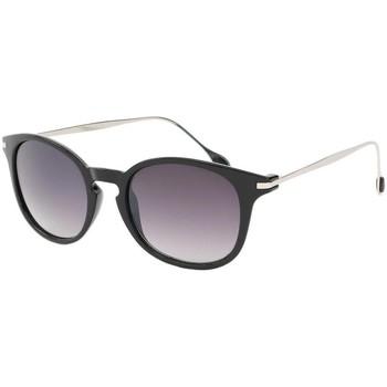 Lunettes de soleil Eye Wear Lunette de soleil Mode Noir Brillant et Argent Zangra Noir 350x350