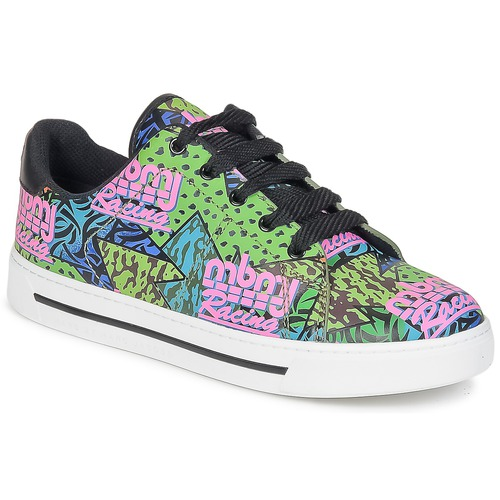 Chaussures Femme Baskets basses Marc by Marc Jacobs MBMJ MIXED PRINT Multicolore