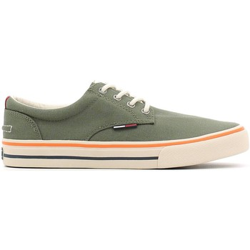 Chaussures Homme Baskets basses Tommy Hilfiger EM56820815 Sneakers Man Olive Olive