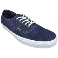 Chaussures Femme Baskets basses Vans Chaussures  U Authentic Ca - Washed Herringbone / Blue Bleu