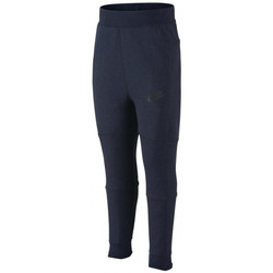 Vêtements Garçon Pantalons de survêtement Nike Pantalon de survêtement  Tech Fleece Cadet - Ref. 728537-473 Bleu