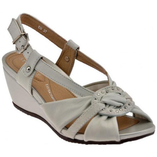 Chaussures Femme Escarpins Stonefly ChaussuredouxConfortCourestEscarpins Blanc