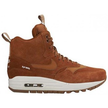 Chaussures Femme Baskets montantes Nike WMNS AIR MAX 1 MID SNEAKERBOOT / CARAMEL CARAMEL