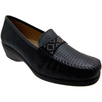 Chaussures Femme Mocassins Calzaturificio Loren LOK3955bl blu