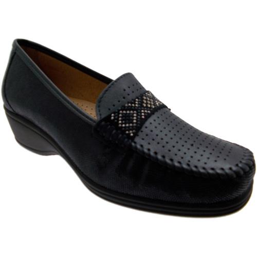 Chaussures Femme Mocassins Loren LOK3955bl blu