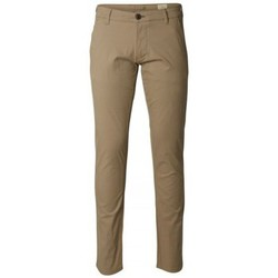 Chinos / Carrots Selected Chino  Three Paris Greige ST