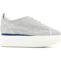 Chaussures Femme Baskets basses Alberto Guardiani SD56451B Chaussures lacets Femmes Argent Argent