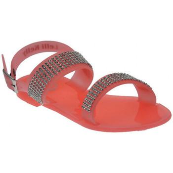 Chaussures Enfant Sandales et Nu-pieds Lelli Kelly Granita Sandalo Strass Plastica Sandales Multicolor