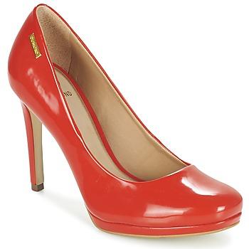 Chaussures Femme Escarpins Dumond LOUBAME Rouge