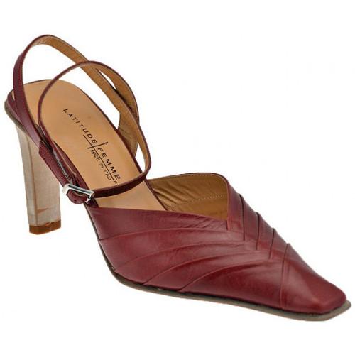 Chaussures Femme Escarpins Latitude sangledelachaussuredeCourT.80estEscarpins Rouge