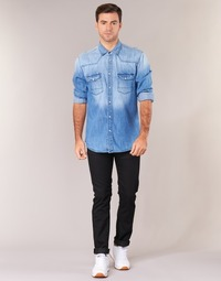 Vêtements Homme Jeans slim Lee RIDER Noir