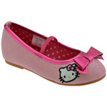 Ballerines / babies Hello Kitty Glitter Bow Ballerines