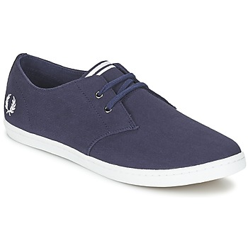 Baskets mode Fred Perry BYRON LOW TWILL Marine 350x350
