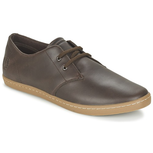 Baskets mode Fred Perry BYRON LOW LEATHER Marron 350x350