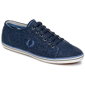 Baskets mode Fred Perry KINGSTON TWEED Marine 350x350