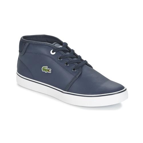 Chaussures Garçon Baskets basses Lacoste Ampthill 316 2 Bleu