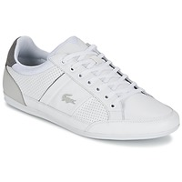 Chaussures Homme Baskets basses Lacoste CHAYMON 316 1 Blanc / Gris