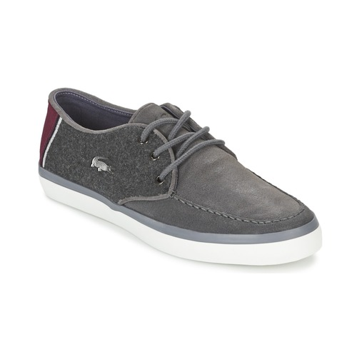Chaussures Homme Chaussures bateau Lacoste SEVRIN 316 3 Gris