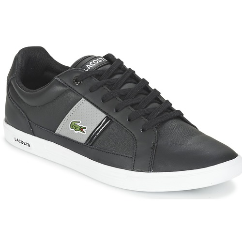 Chaussures Homme Baskets basses Lacoste EUROPA LCR3 Noir