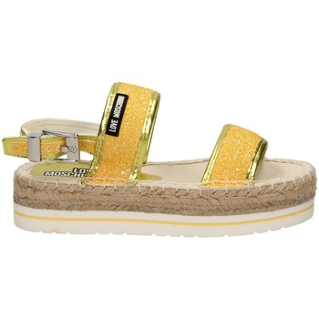 Sandales et Nu-pieds Moschino Love GLITTER