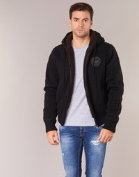 Vêtements Homme Gilets / Cardigans Schott DUNLIN Noir
