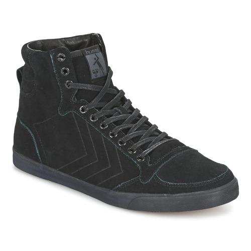 Chaussures Baskets montantes Hummel TEN STAR TONAL HIGH Noir