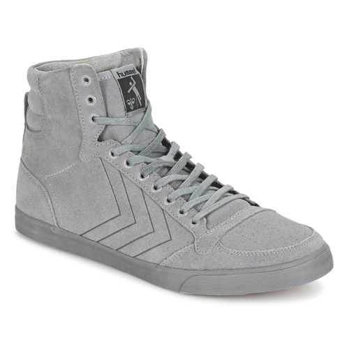 Chaussures Baskets montantes Hummel TEN STAR TONAL HIGH Gris