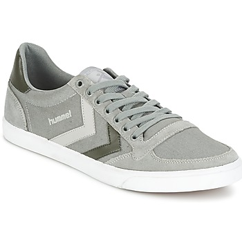 Chaussures Baskets basses Hummel TEN STAR DUO CANVAS LOW Gris
