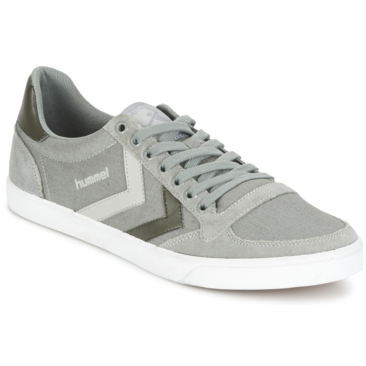 Hummel TEN STAR DUO CANVAS LOW Gris
