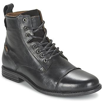 Bottines / Boots Levi's EMERSON LACE UP Noir 350x350