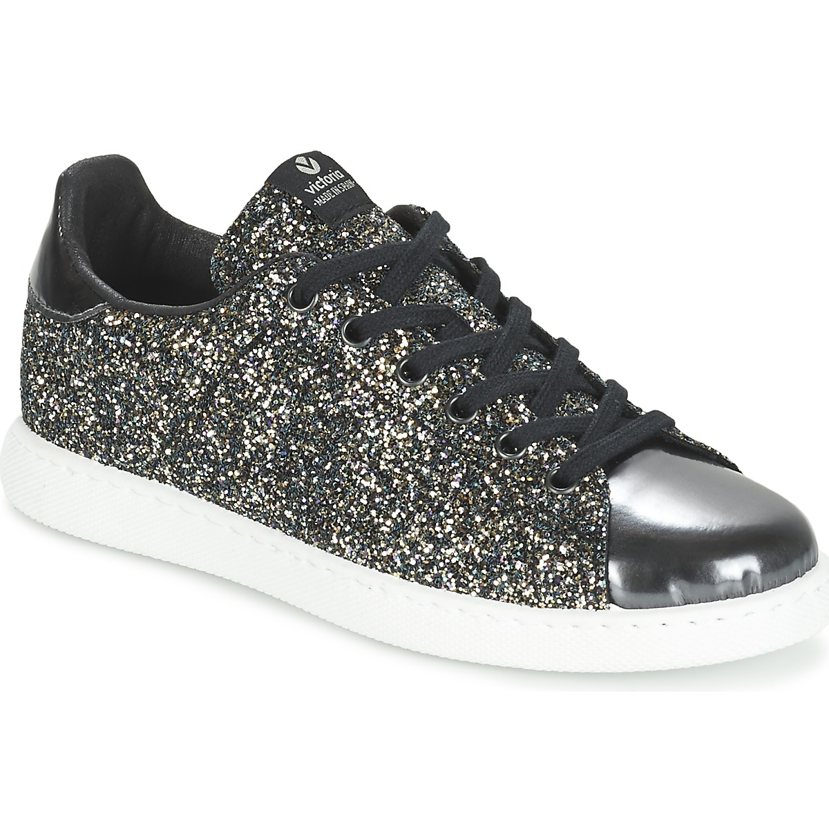 Marques Chaussure femme Victoria femme Deportivo Glitter Contraste Negro