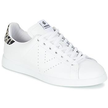 Chaussures Femme Baskets basses Victoria DEPORTIVO BASKET PIEL Blanc