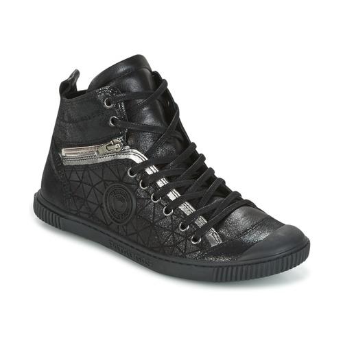 pataugas banjou noir chaussures basket montante femme 145 00. Black Bedroom Furniture Sets. Home Design Ideas