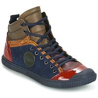 Chaussures Femme Baskets montantes Pataugas BANJOU/MC Multicolore