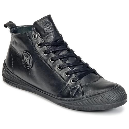 Chaussures Femme Baskets montantes Pataugas ROCKER/N Noir
