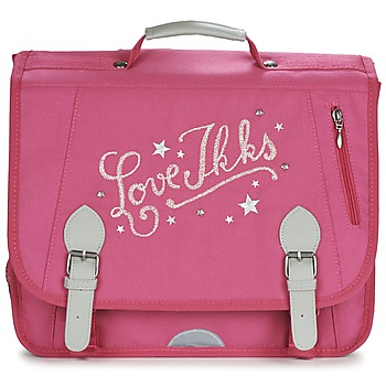 Sacs Fille Cartables Ikks LOVE IKKS CARTABLE 38CM Rose