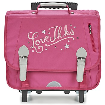 Sacs Fille Sacs / Cartables à roulettes Ikks LOVE IKKS TROLLEY CARTABLE 38CM Rose