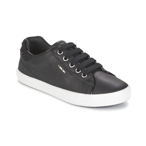 Chaussures Fille Baskets basses Geox KIWI GIRL Noir